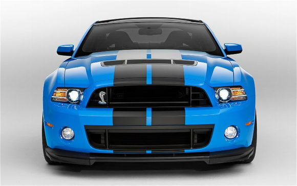 2013 Ford Shelby GT500 front end