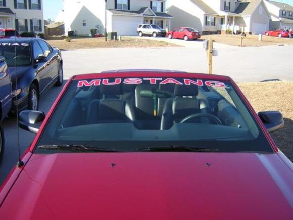 windshield graphic