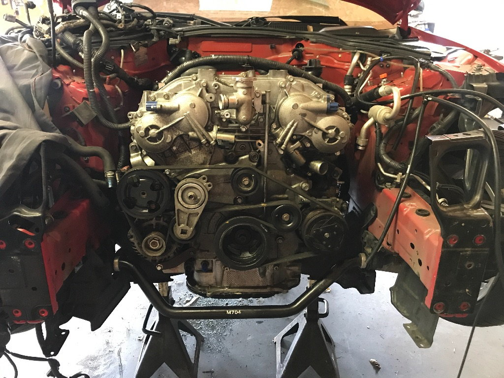 Vq37vhr swap in a hr 350z! - MY350Z COM - Nissan 350Z and