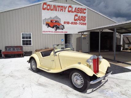 1950 MG T.D Convertible