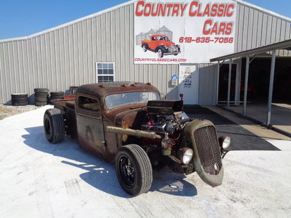 1937 Chevy Pickup Rat Rod