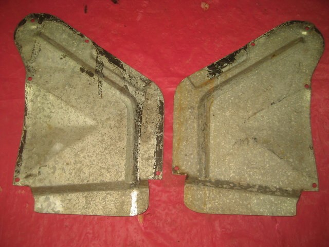 1964-67 Pontiac GTO Convertible Quarter Covers