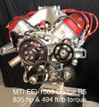 MTI Racing/Ernie Elliott Dodge R5 Engine