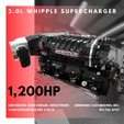 LS Engines with New 3.0L Whipple Supercharger