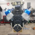 BBC 468 roller drag racing engine  for sale $6,500