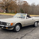 1987 Mercedes-Benz 560 Series 2dr Roadster 560SL