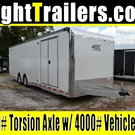 8.5x28 ATC Quest Enclosed Car Hauler Racing Trailer