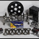 BBC CHEVY 496 ASSEMBLY SCAT & WISECO +25cc DOME 4.310