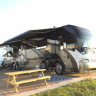 45 FT Quad Slide Coach w/Custom MotorSports Salon
