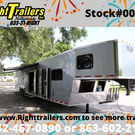 NEW 2021 Vintage 50' Living Quarters Trailer - Full