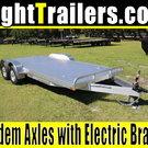 """18' ATC All Aluminum Car Hauler w/ 102"""" Width"""