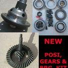 "Ford 9"" Trac-Lok Posi - Gear - Bearing Kit Package"
