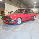 BMW E30 325is M52 swap