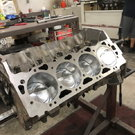B.B. CHEVROLET 548 cuin SHORT BLOCK