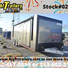 2021 8.5x28 Haulmark Edge ALX Custom Race Trailer