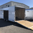 2020 8.5 x 20' Aluminum Car Hauler w/Escape Door