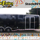 2019 8.5'x34 Haulmark Race Trailer