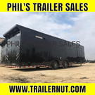 32 RACE TRAILER LOADED OUT ENCLOSED RACING TRAILER EXTRA HT