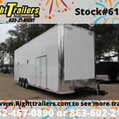 8.5x30 Stacker Race Trailer - Pro Package