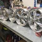 Spindel Mount Wheels