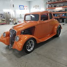 33 Willys custom Glass Coupe