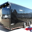 """28' Black-Out Trailer Auto Master +18"""" X-Height Wacobil"""