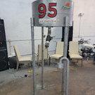 Fuel speed filler elevated drop fast filler