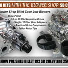 LS Chevy Rec, Cathedral , Port  Billet Blower Pkg.