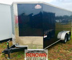 **NEW** 6X12 Tandem Axle Enclosed Cargo Trailer