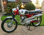 1969 Honda CL125 Scrambler  for sale $3,200