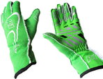 K1 Track 1 Race Gloves...Green, Pink, Black, Red or Blue  for sale $79