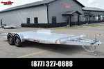 2021 SPORT HAVEN 20' DELUXE ALUMINUM OPEN CAR HAULER