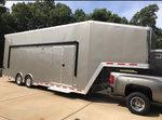 34' ATC All Aluminum Stacker Trailer - less than 8,000 miles