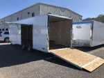 New 2020 8.5 x 24 Aluminum Trailer with Escape Door