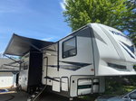 2019 16' Garage Toy Hauler - Forest River Vengeance 388V16