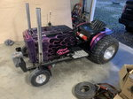 Ford LGT100 custom 1100lb pulling tractor