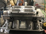 Hitman intake, 3,600 CFM throttle body, 120 lbs injectors.