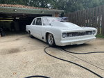 68 Plymouth valiant chassis car