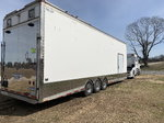 2007 Freightliner and 30' renegade stacker trailer&nbs