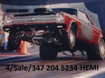 Plymouth Satellite Hemi race car