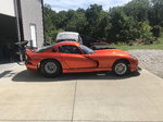 Factory viper with factory lower front frame rails pro mod&n