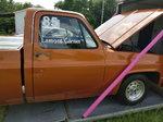 1985 Chevrolet Short Bed drag racing truck