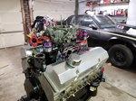 SBC 383 nitrous motor