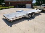 Aluminum flat car hauler