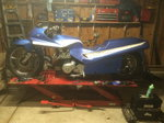 Kawasaki Dragbike Rolling chassis