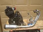 Honda FT Ascot 500 cc motor