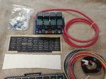 Arc 8001d switch panel