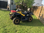 2013 Cam Am Outlander Max XT-P 1000 For Sale lots of upgrade