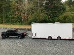 28' sprint car intech trailer