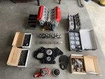 NASCAR engine